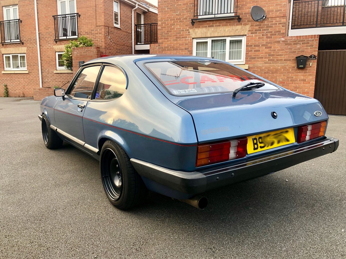 1984 Ford Capri mk3 2.1 LS For Sale (picture 4 of 6)