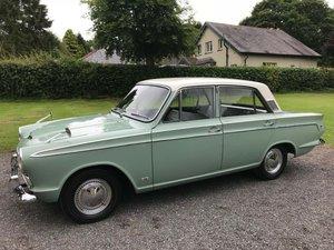 1965 FORD CORTINA SUPER GREEN/WHITE JUST 6,433 MILES UNIQUE! SOLD