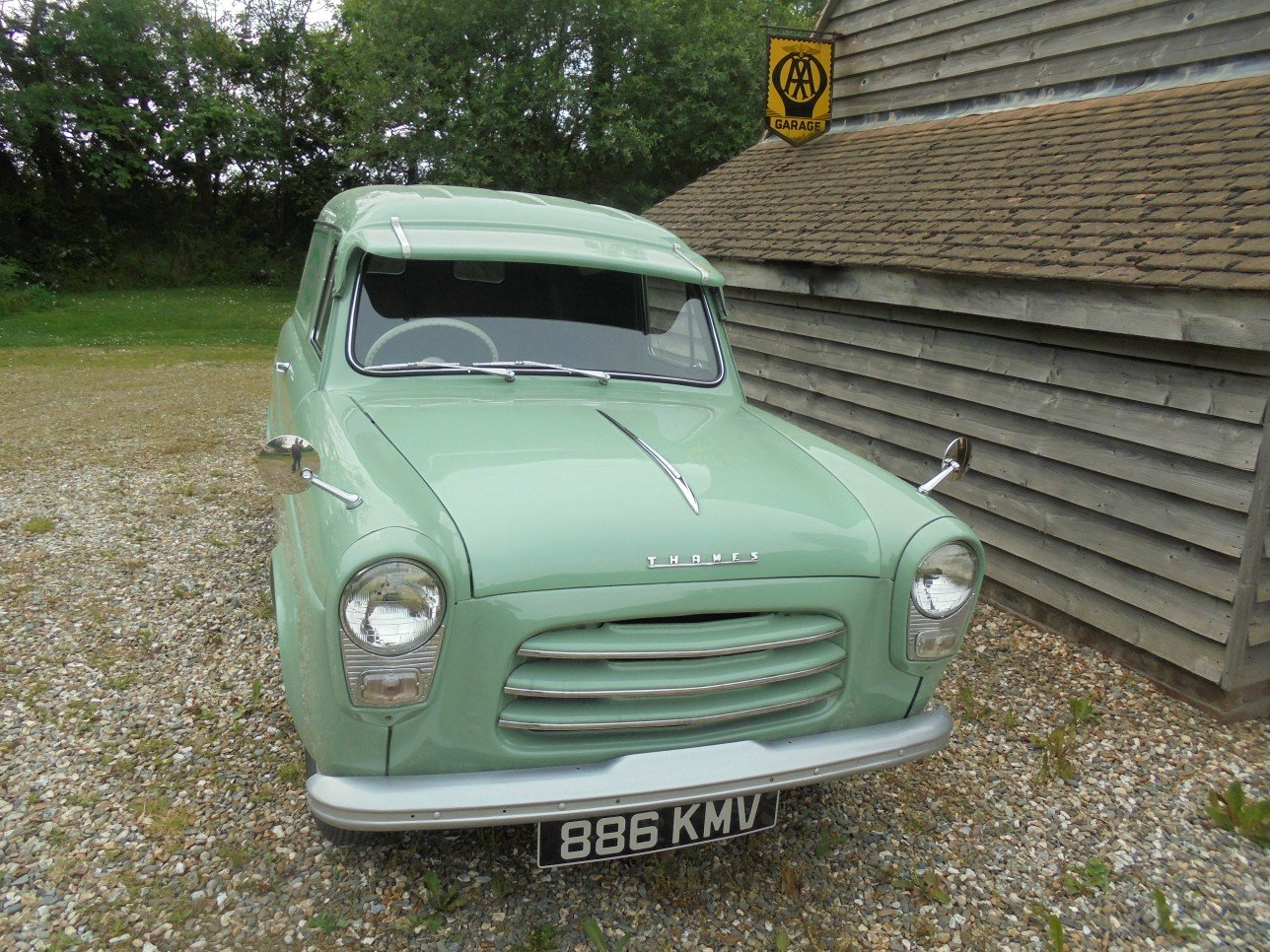 1956 Ford Thames 300E Van. For Sale (picture 1 of 6)