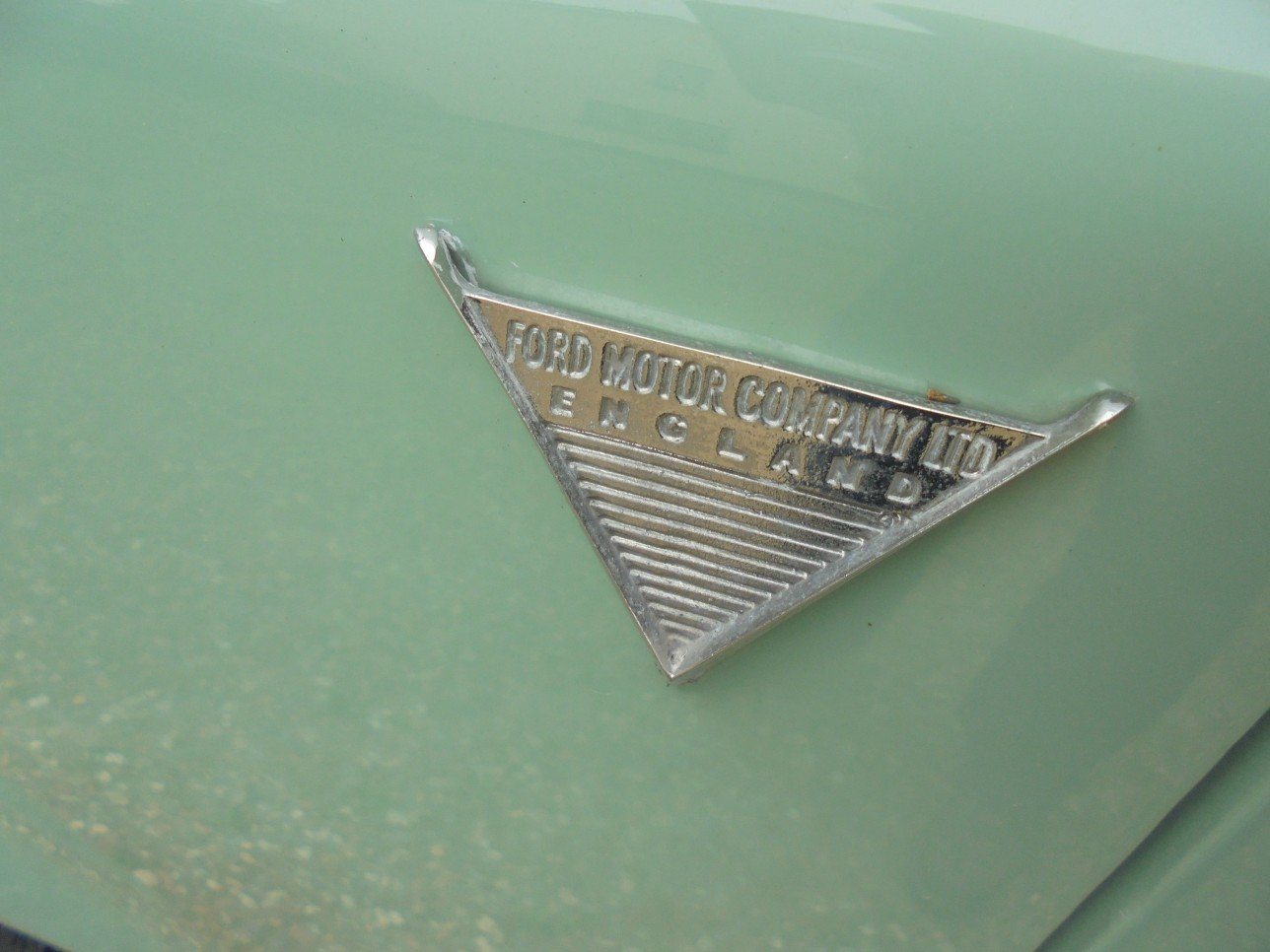 1956 Ford Thames 300E Van. For Sale (picture 6 of 6)