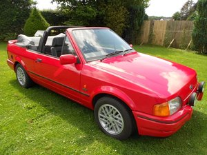 1989 Escort XR3i Cabriolet huge history all MOT 80 pics For Sale