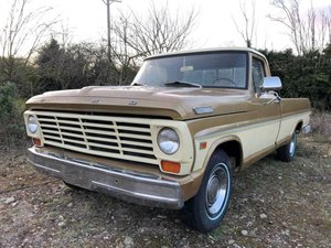 1967 Ford F-100 For Sale by Auction