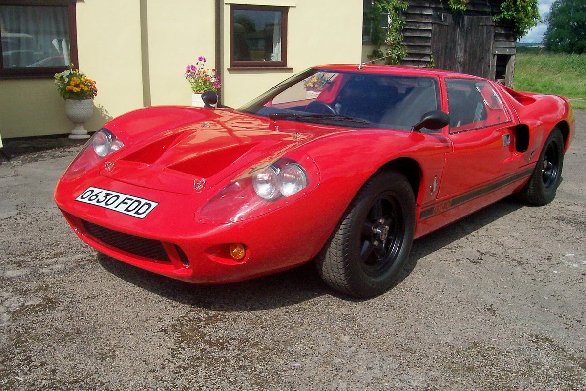 1988 Ford gt40.mk3 kva SOLD TO STEFAN SOLD (picture 2 of 6)