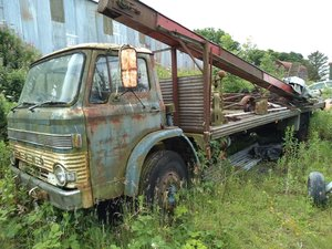 1970 Ford D1000 Restoration Project For Sale