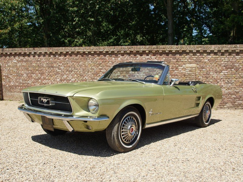 1967 Ford Mustang 289 V8 Convertible factory Sports Sprint Packag For Sale (picture 1 of 6)