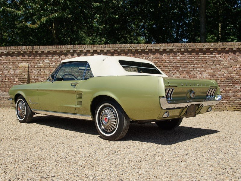 1967 Ford Mustang 289 V8 Convertible factory Sports Sprint Packag For Sale (picture 2 of 6)