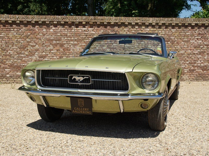 1967 Ford Mustang 289 V8 Convertible factory Sports Sprint Packag For Sale (picture 5 of 6)