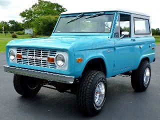 1970 Ford Bronco Full Restored 302 Manual Lifted Marti $72.5
