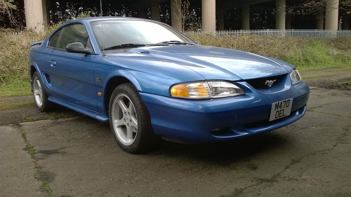 1995 Mustang 5.0 V8 GT HO SN95, low miles! For Sale | Car And Classic