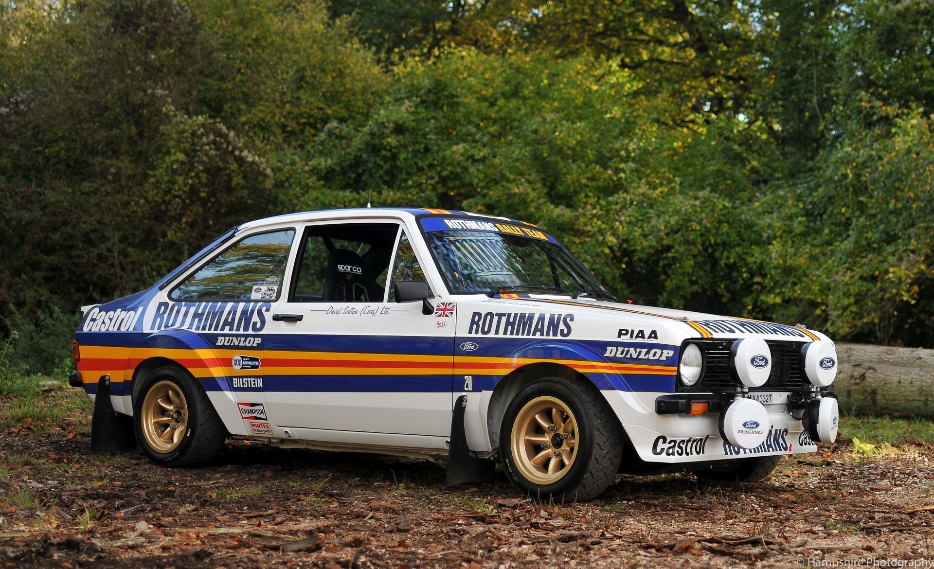1978 Ford Escort Mexico Mk II Group 4 Rally Car Evocation For Sale (picture 1 of 6)