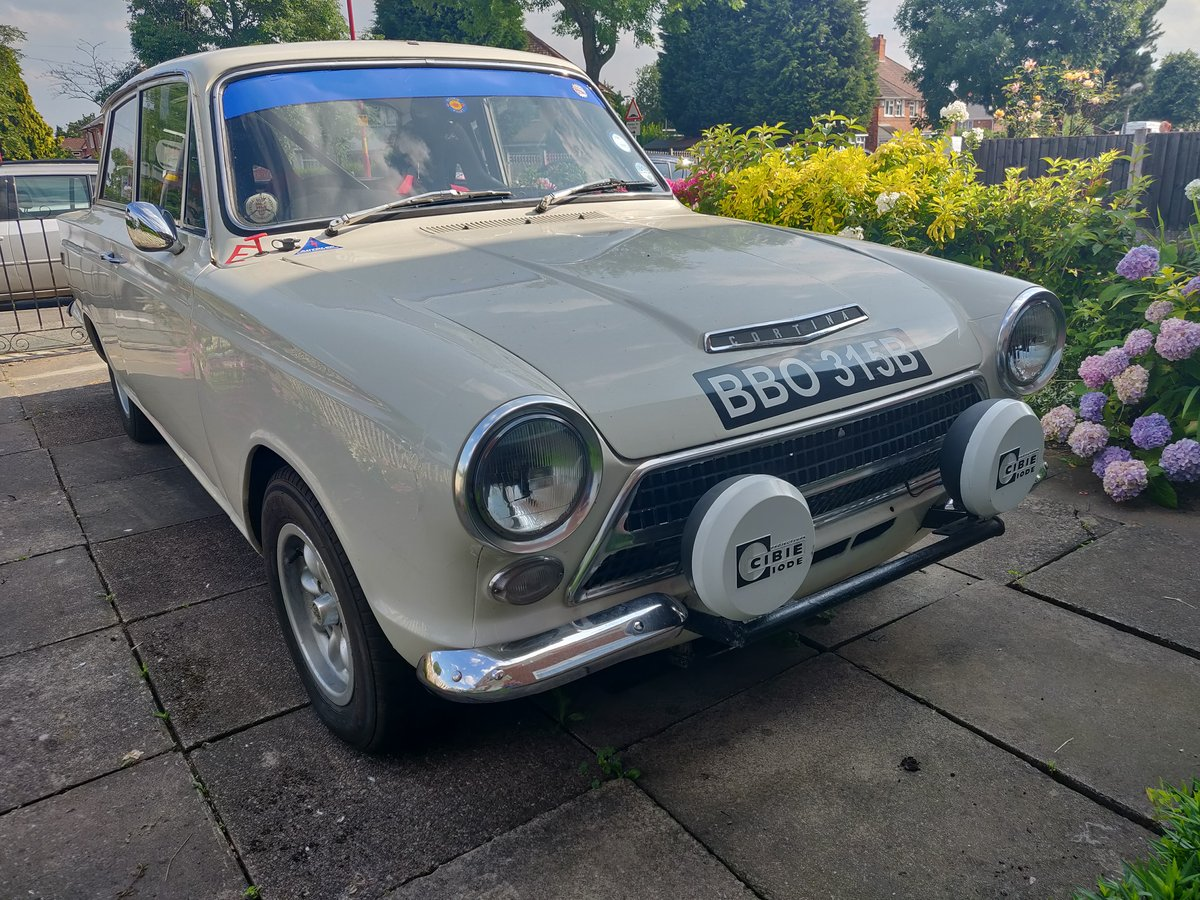 Cortina MK1 GT Rally Car For Sale (picture 1 of 6)