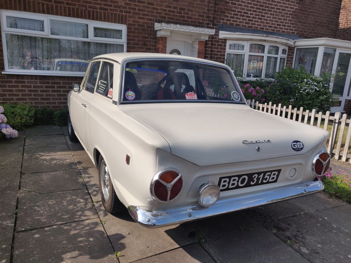 Cortina MK1 GT Rally Car For Sale (picture 2 of 6)