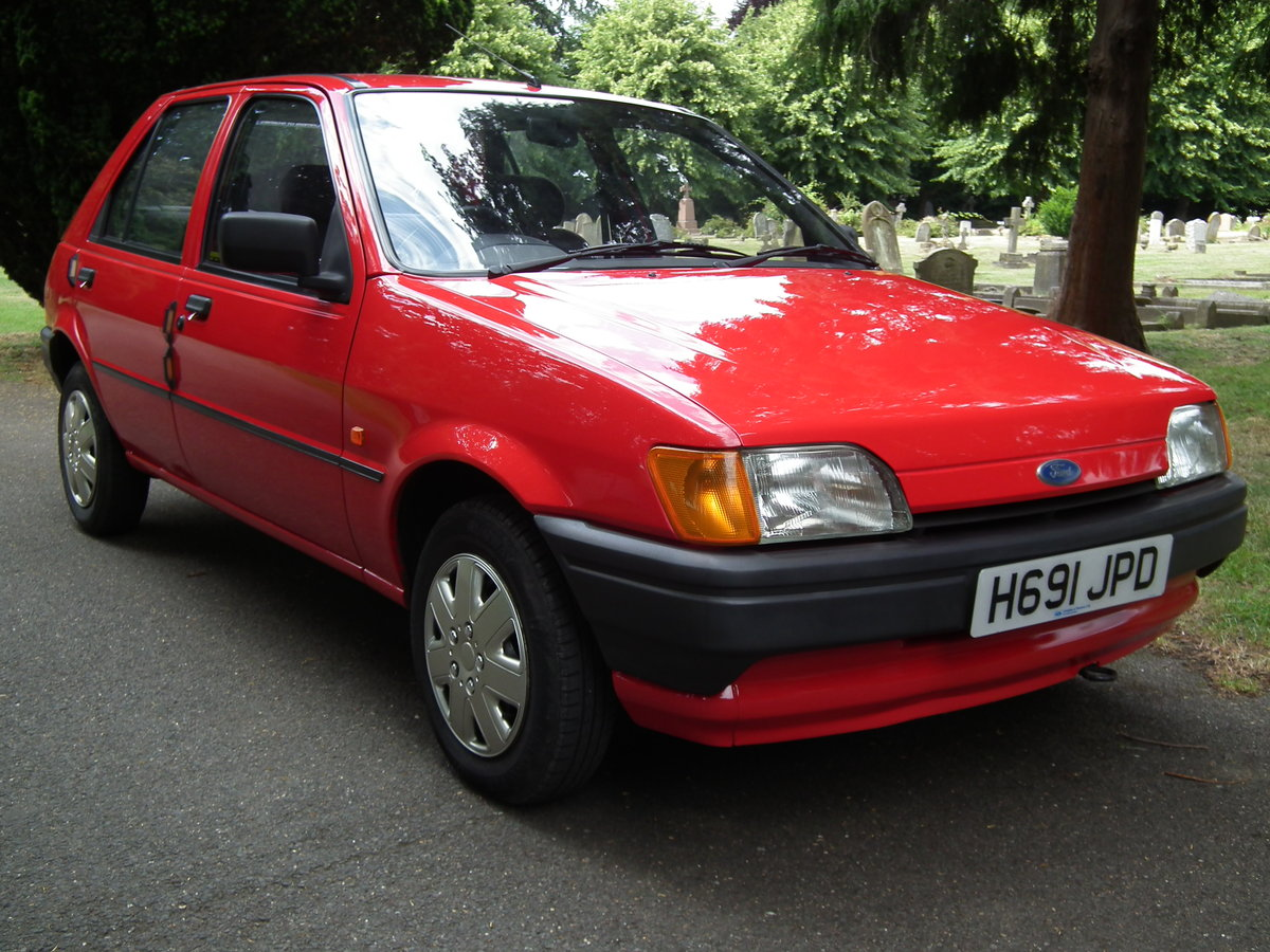 Ford Fiesta 1.1 Popular Plus. 1991.  Like New. For Sale (picture 1 of 6)