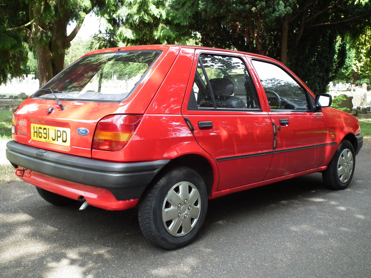 Ford Fiesta 1.1 Popular Plus. 1991.  Like New. For Sale (picture 2 of 6)