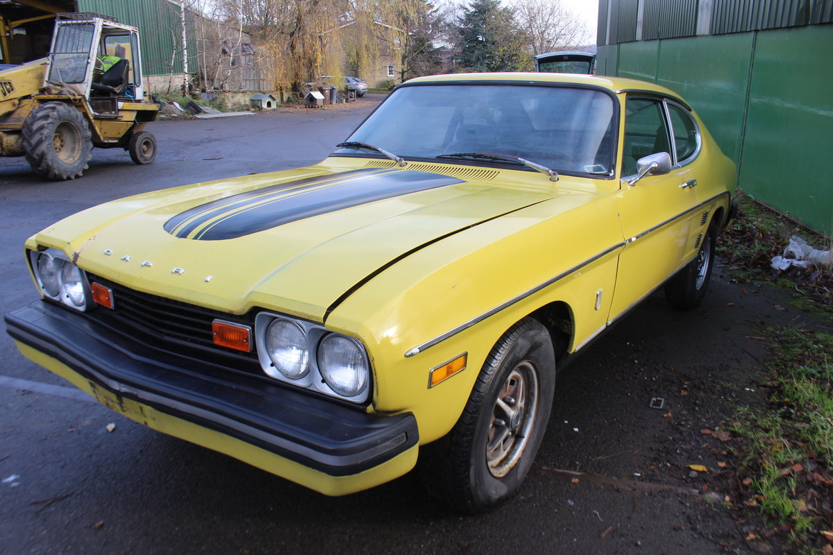 Capri, 1974, rust free, LHD 2.8 V6 For Sale (picture 1 of 6)