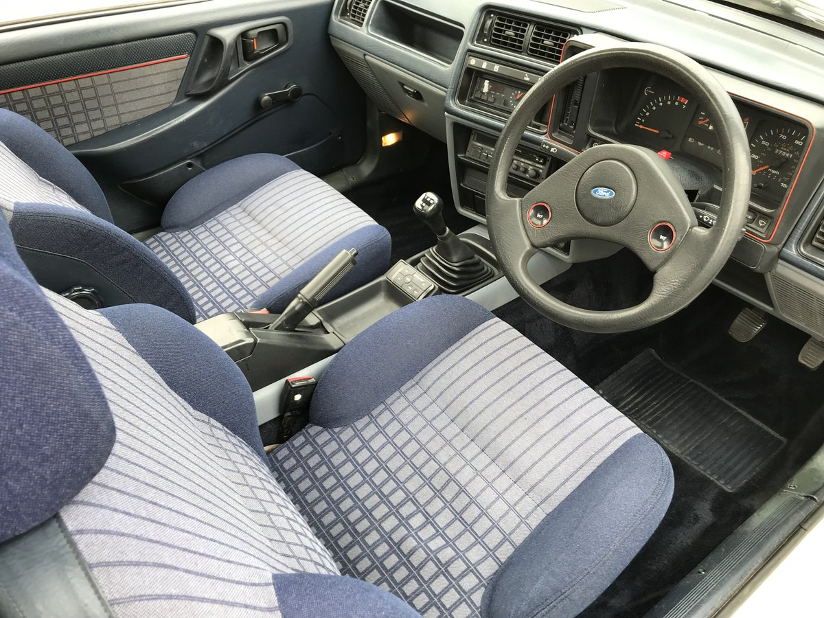 1983 Ford Sierra xr4i For Sale (picture 5 of 6)