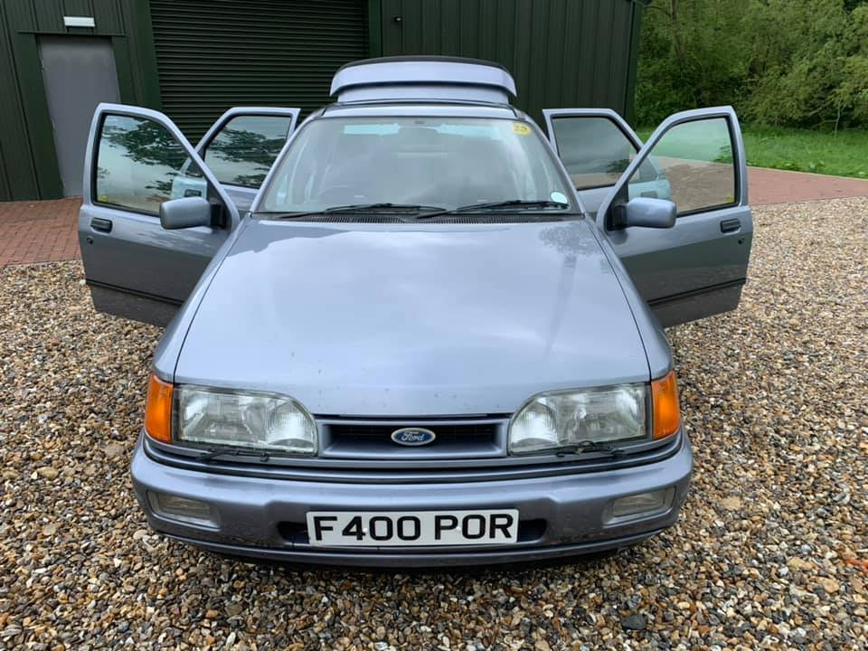 1988 STUNNING  VERY  LOW  MILEAGE  LOW  OWNERSHIP  COSWORTH For Sale (picture 2 of 6)