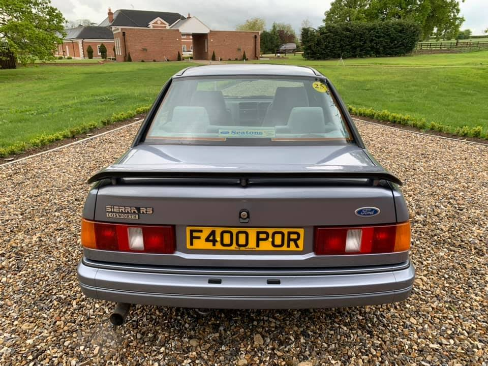 1988 STUNNING  VERY  LOW  MILEAGE  LOW  OWNERSHIP  COSWORTH For Sale (picture 3 of 6)