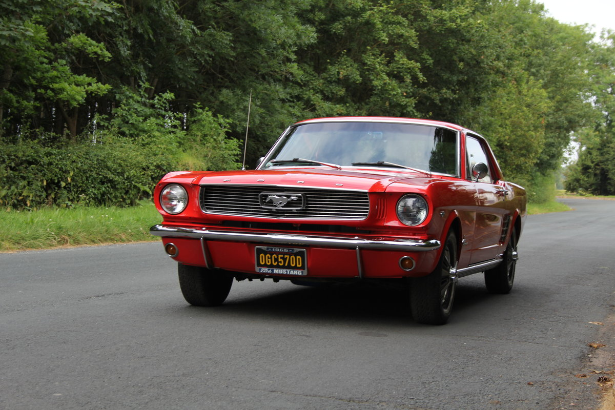 1966 Ford Mustang 289 V8 Coupe - 66k Miles, History from new For Sale (picture 3 of 12)