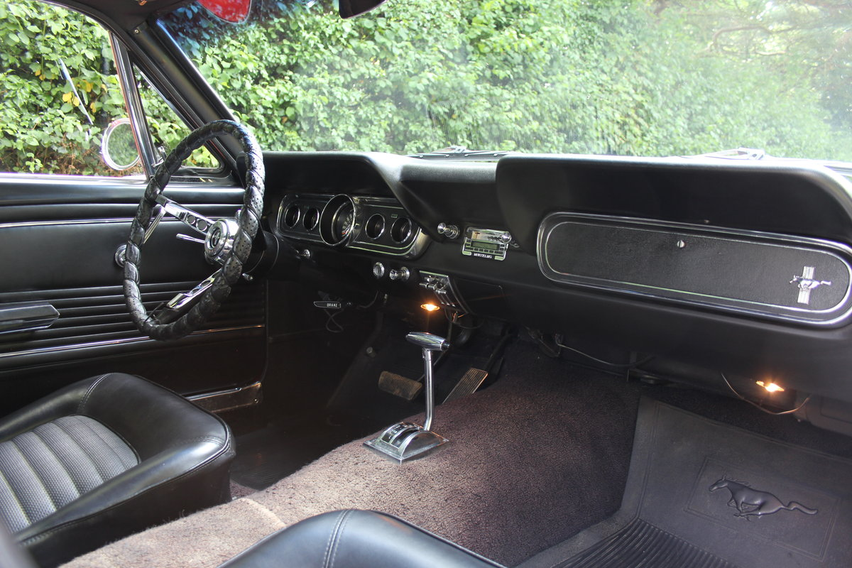 1966 Ford Mustang 289 V8 Coupe - 66k Miles, History from new For Sale (picture 8 of 12)