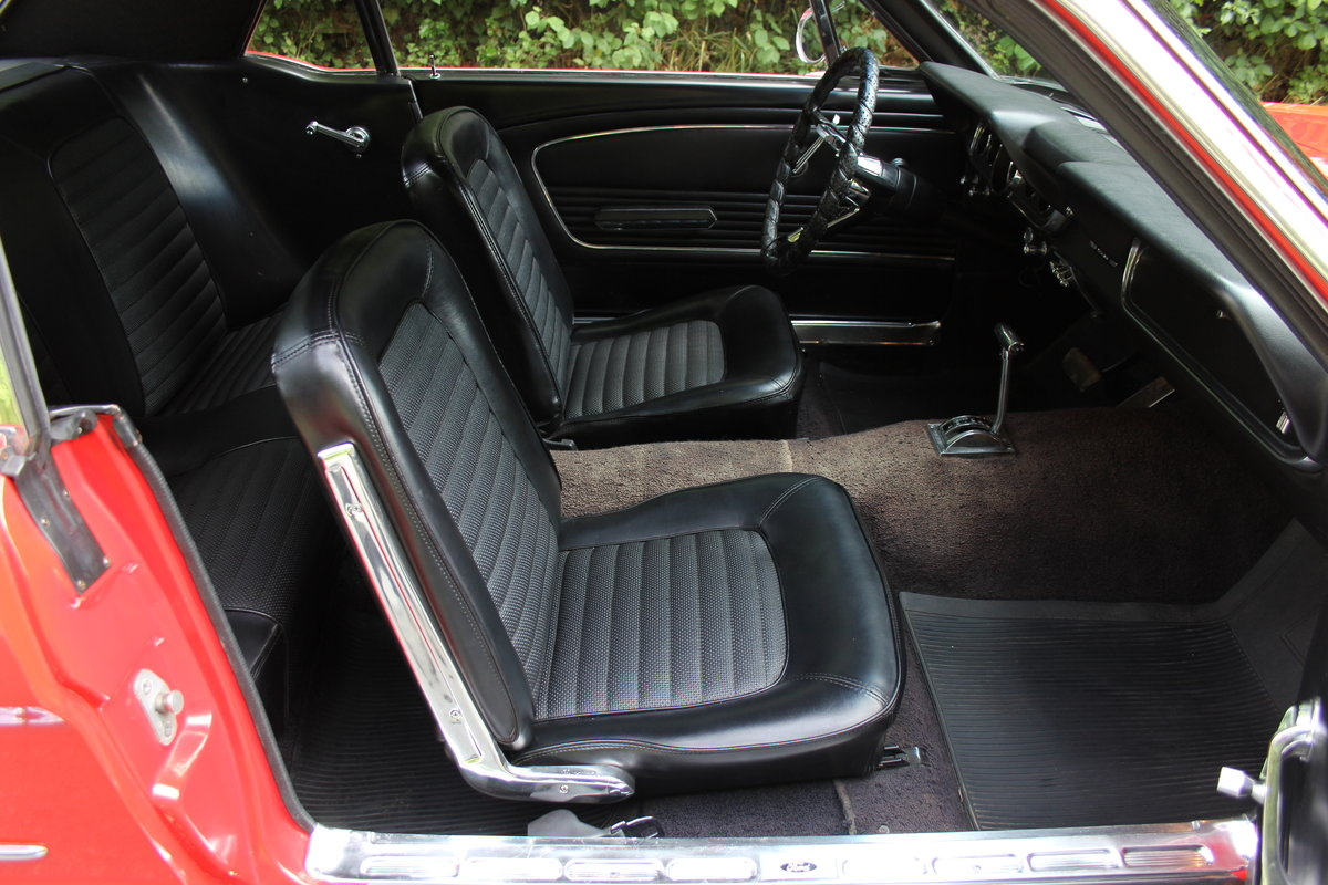 1966 Ford Mustang 289 V8 Coupe - 66k Miles, History from new For Sale (picture 9 of 12)