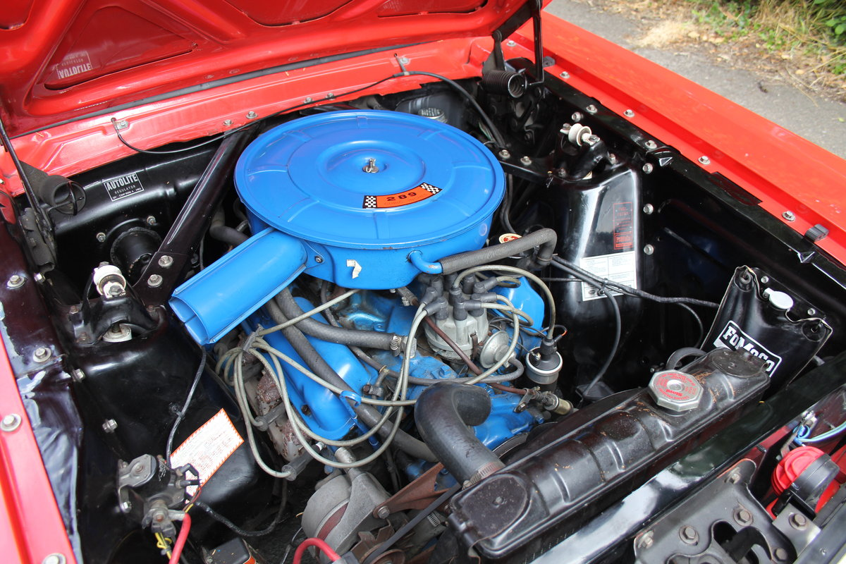1966 Ford Mustang 289 V8 Coupe - 66k Miles, History from new For Sale (picture 10 of 12)