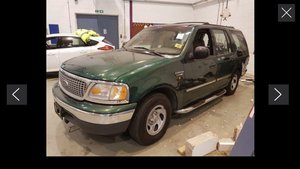 1999 ford expedition 5.4 v8 lhd 25000 miles only one owner f