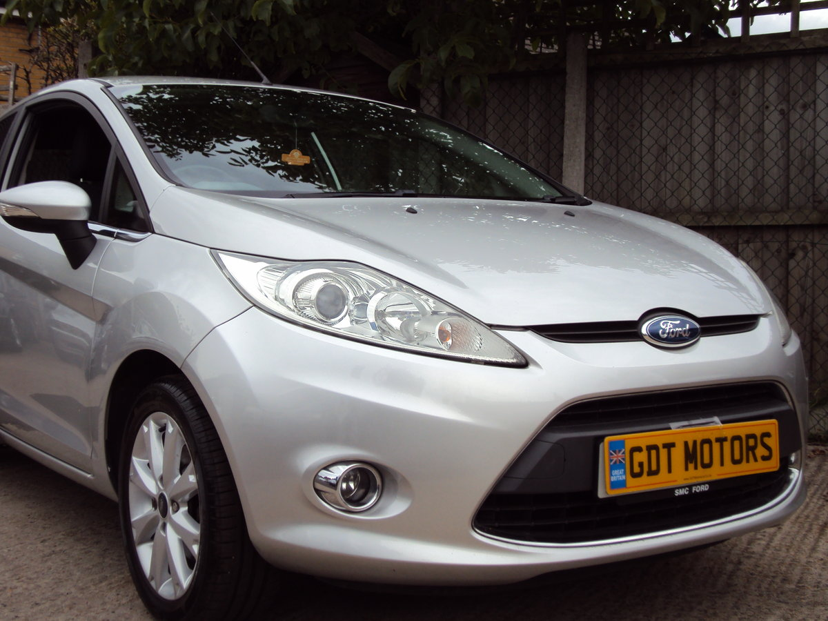 2009 Ford Fiesta Mk7 1.25L Zetec – LOW MILEAGE For Sale (picture 1 of 1)