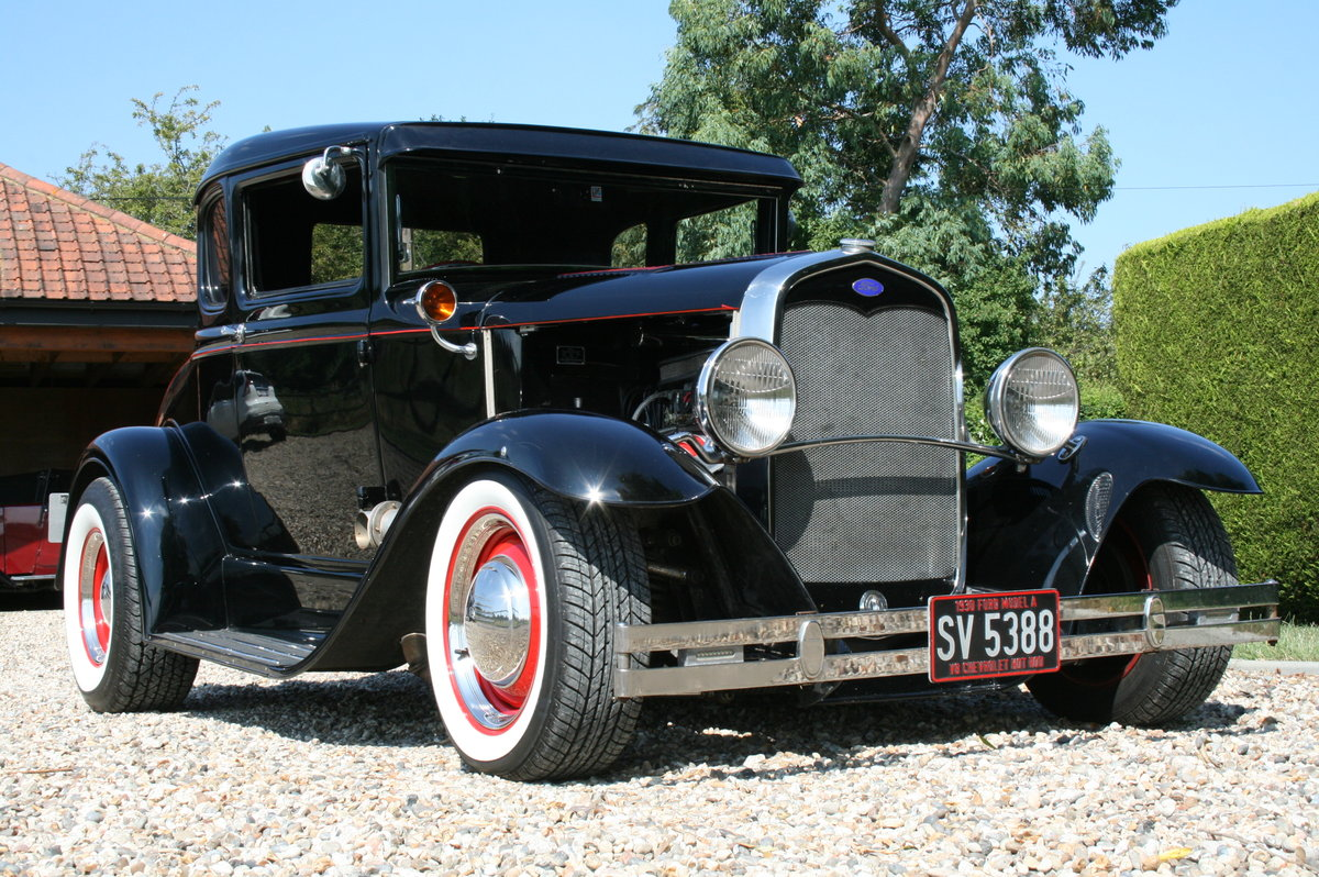 1930 Model A V8 Coupe Hot Rod RHD .SOLD,SOLD For Sale (picture 1 of 6)