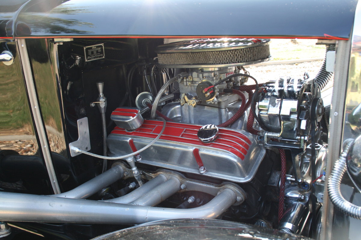 1930 Model A V8 Coupe Hot Rod RHD .SOLD,SOLD For Sale (picture 3 of 6)