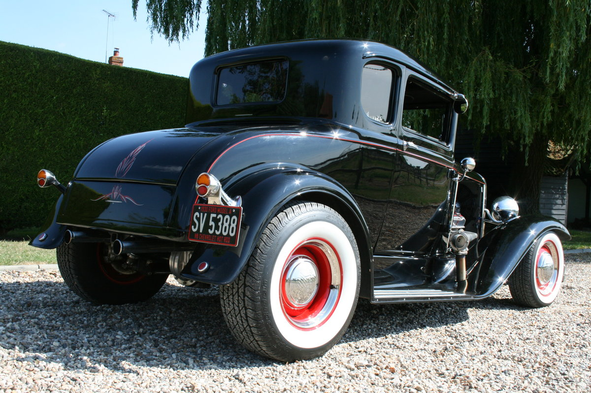 1930 Model A V8 Coupe Hot Rod RHD .SOLD,SOLD For Sale (picture 6 of 6)