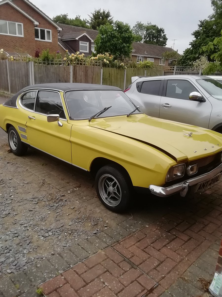 1972 Ford capri mark 1 2litre gt xlr For Sale (picture 2 of 6)