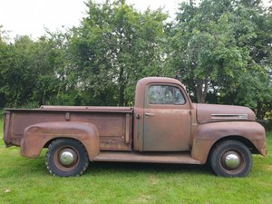 FORD F3 PICK UP TRUCK 1950 FLATHEAD V8 239cu