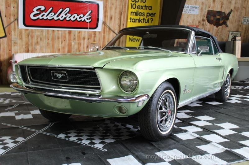 1968 FORD Mustang Cabriolet For Sale by Auction (picture 1 of 6)