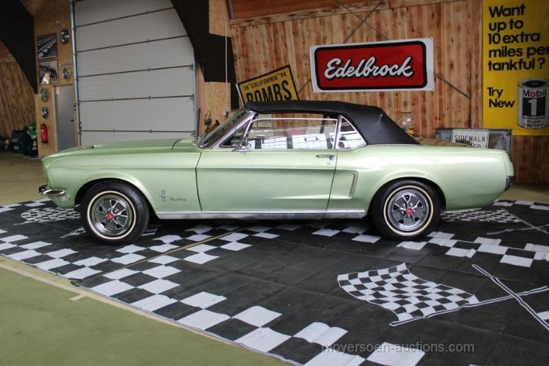 1968 FORD Mustang Cabriolet For Sale by Auction (picture 2 of 6)