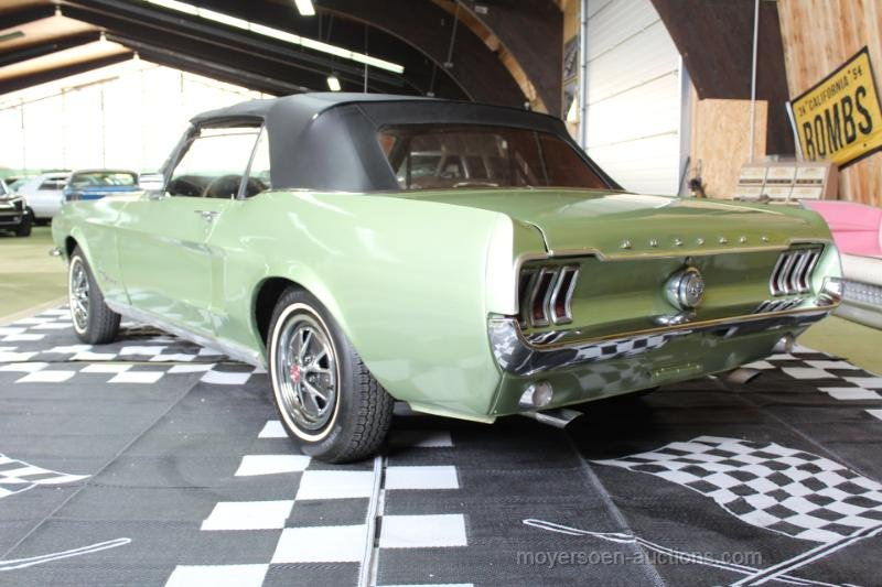1968 FORD Mustang Cabriolet For Sale by Auction (picture 3 of 6)