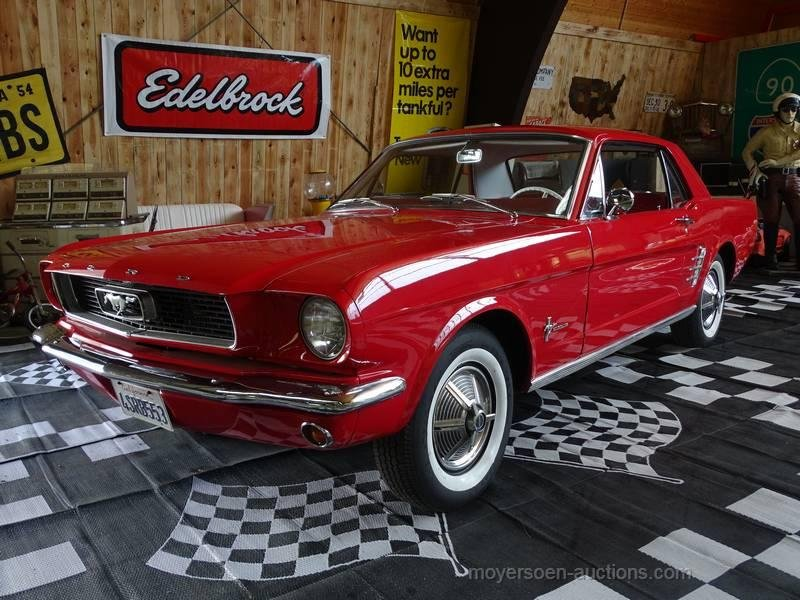 1966 ford mustang 6-cylinder for sale (picture 1 of 6)