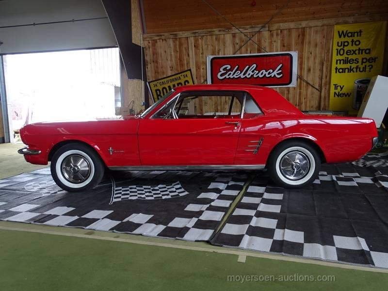 1966 FORD Mustang 6-Cylinder For Sale by Auction (picture 2 of 6)