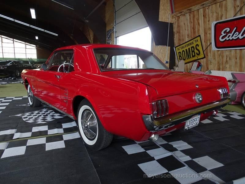 1966 FORD Mustang 6-Cylinder For Sale by Auction (picture 3 of 6)