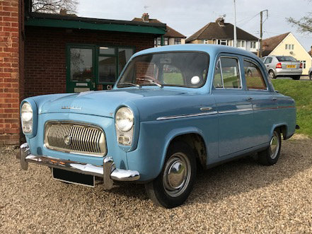 1961 Ford Prefect Saloon For Sale (picture 1 of 6)