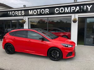 2018 Focus RS Red Edition, One Owner and just 376 miles. For Sale