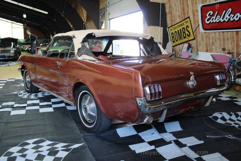 1966 FORD Mustang Cabriolet For Sale by Auction (picture 3 of 6)