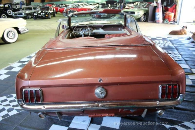 1966 FORD Mustang Cabriolet For Sale by Auction (picture 6 of 6)
