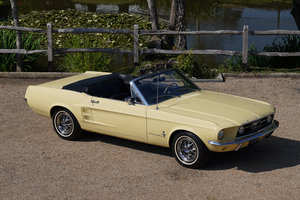 1967 Ford Mustang 289 Convertible Springtime Yellow For Sale