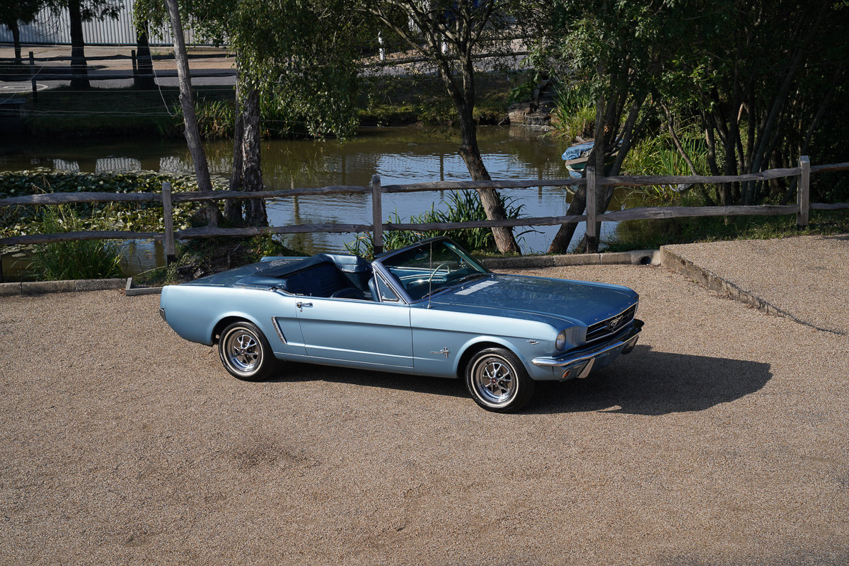 1965 ford mustang 289 manual v8 convertible fully restored for sale  (picture 1 of 6