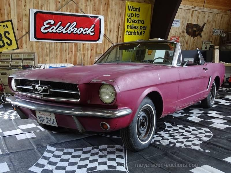1965 FORD Mustang Cabriolet  For Sale by Auction (picture 1 of 6)