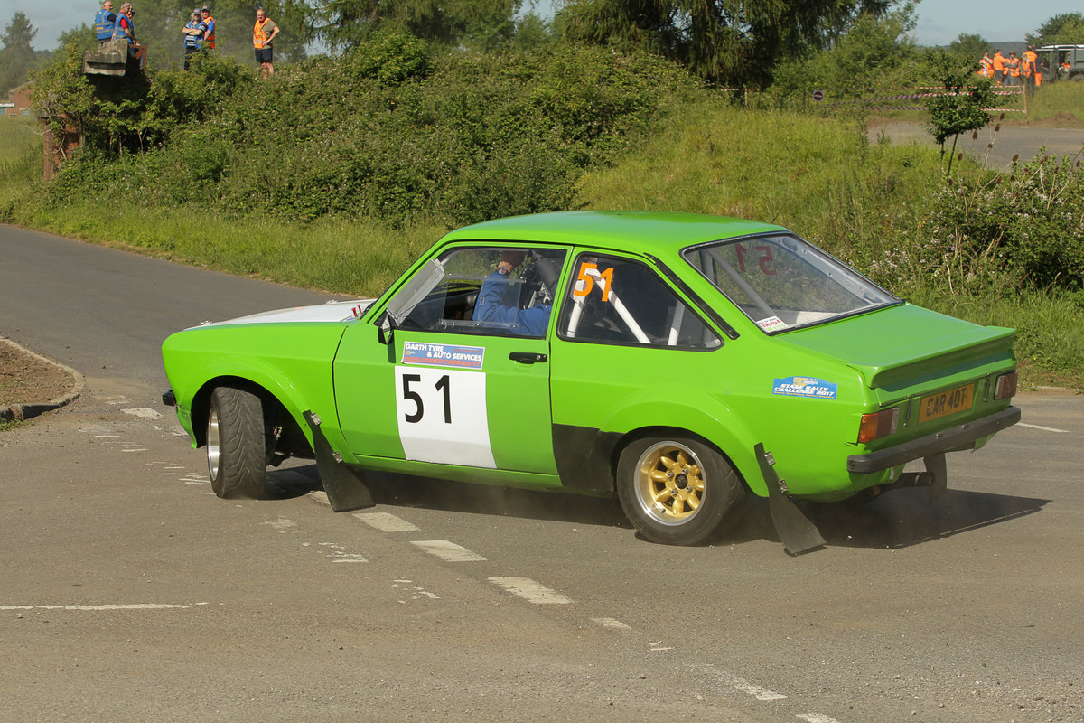 1972 MK2 Escort Group 4 Rally car ready to race SOLD (picture 1 of 6)