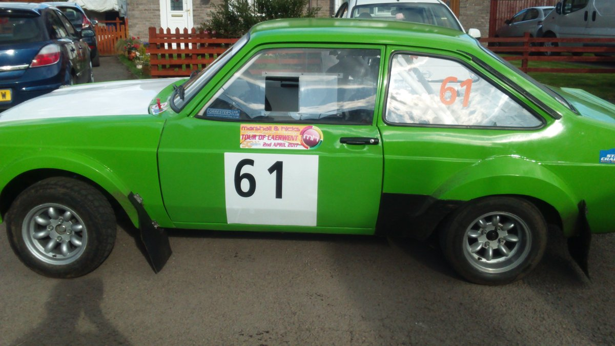 1972 MK2 Escort Group 4 Rally car ready to race SOLD (picture 2 of 6)