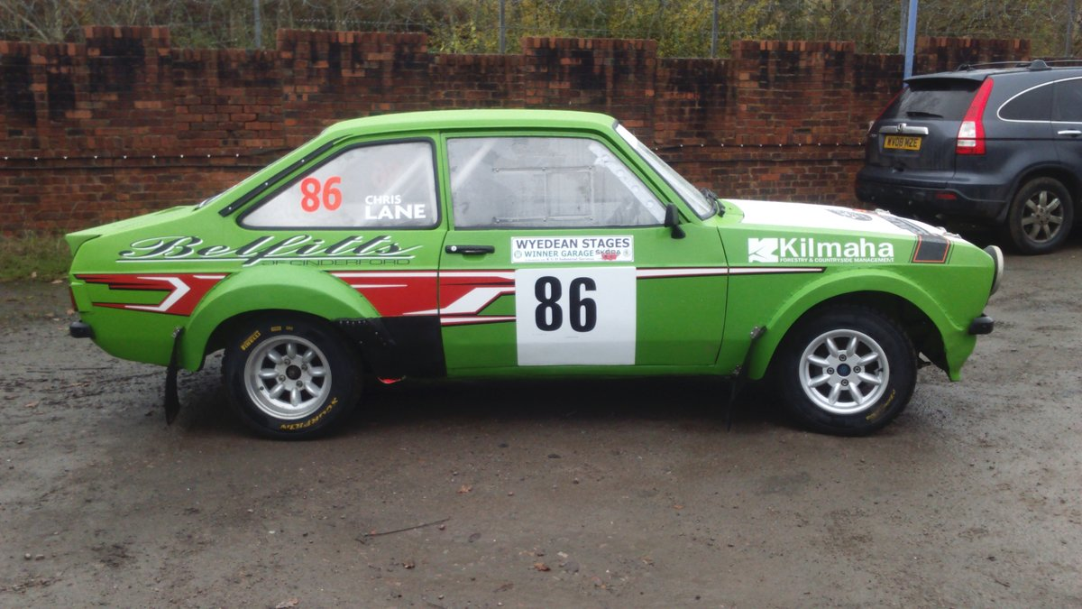 1972 MK2 Escort Group 4 Rally car ready to race SOLD (picture 5 of 6)