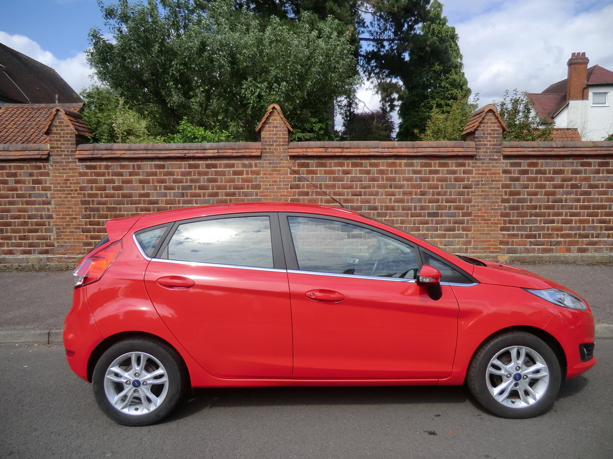 2014 Fiesta Zetec, 1 lady owner from new For Sale (picture 1 of 6)